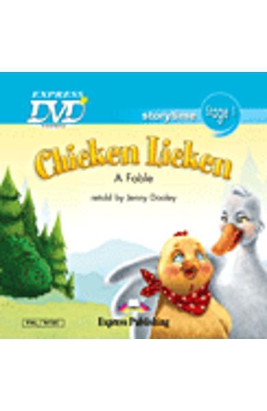 Literatura adaptata pt.copii - Chicken Licken - DVD 978-1-84862-823-6