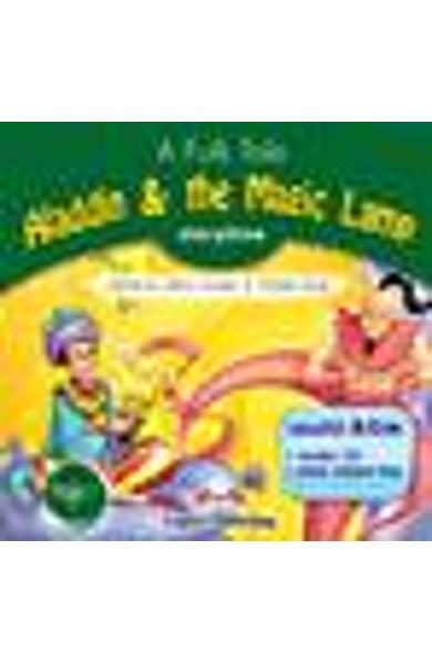Literatura Adaptata pt. Copii Aladdin and the Magic Lamp DVD 978-1-84862-629-4