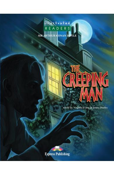 Literatură adaptată pt. copii benzi desenate the creeping man illustrated cu cd