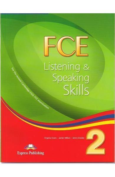 Teste limba engleză FCE Listening and Speaking Skills 2 Manualul elevului