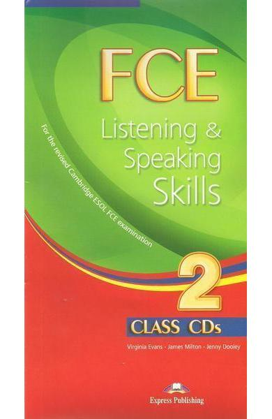 Teste limba engleză FCE Listening and Speaking Skills 2 Audio CD (set 10 CD)