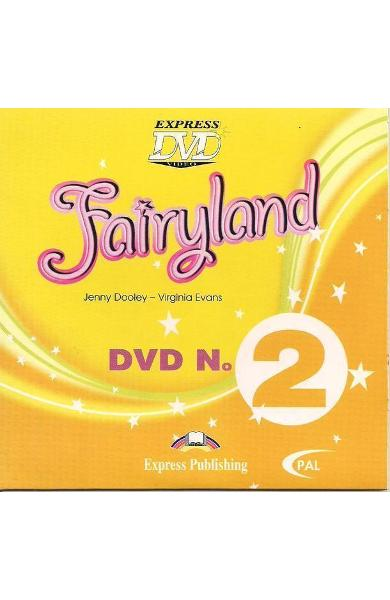 Curs limba engleză Fairyland 2 DVD