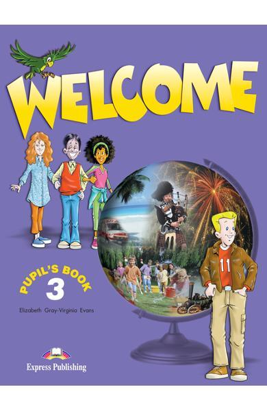 Curs limba engleză Welcome 3 Manualul elevului 978-1-84862-157-2