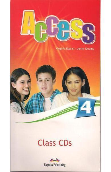 Curs limba engleză Access 4 Audio CD (set 4 CD)