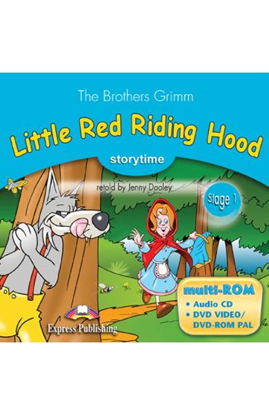 Literatura adaptata pt copii - Little Red Riding Hood - MULTI-ROM PAL 978-1-84974-296-2