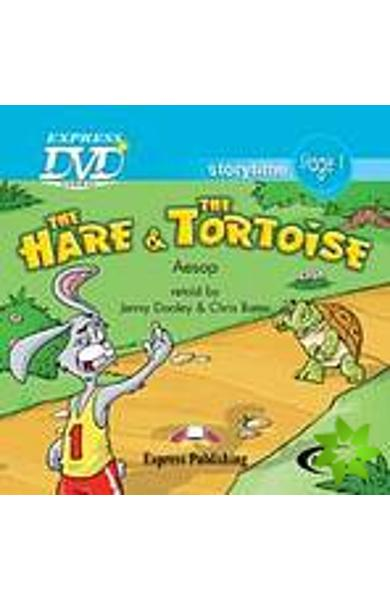 Literatura adaptata pt.copii - The Hare and the Tortoise - DVD 978-1-84679-590-7