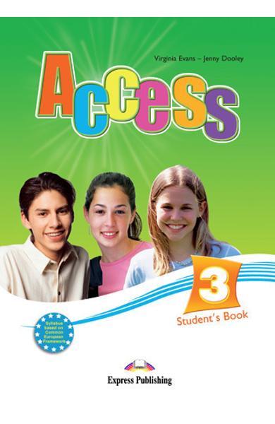 Curs limba engleză Access 3 Manualul elevului