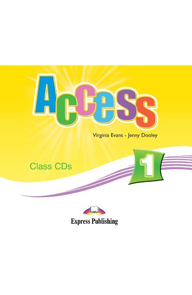 Curs limba engleză Access 1 Audio CD la manual (set 3 CD-uri)