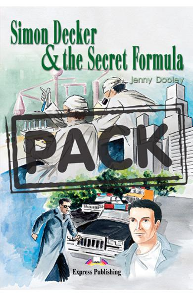 Literatura adaptata pt.copii - Simon Decker and the Secret Formula - Set: Carte + Audio CD 978-1-84216-154-8