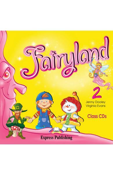 Curs limba engleză Fairyland 2 Audio CD