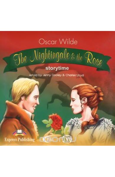 Literatura adaptata pt. copii - The Nightingale and the Rose DVD-ROM 978-1-84466-195-4