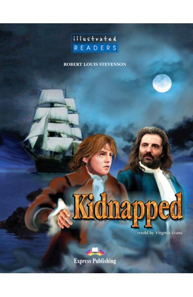 Literatura adaptata pentru copii benzi desenate Kidnapped 978-1-84558-207-4