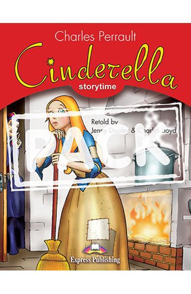 Literatura adaptata pentru copii Cinderella set cu DVD