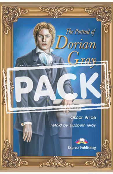 Literatura adaptata pentru copii The Portrait of Dorian Gray Pachetul elevului (carte + audio CD) 978-1-84466-808-3