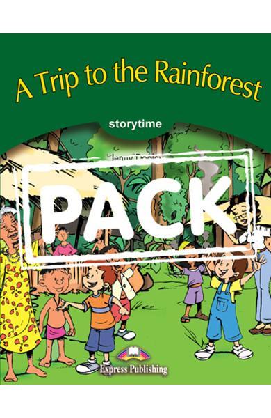 Literatura adaptata pt.copii - A Trip to the Rainforest - Set: Carte + AUDIO CD 978-1-84325-718-9
