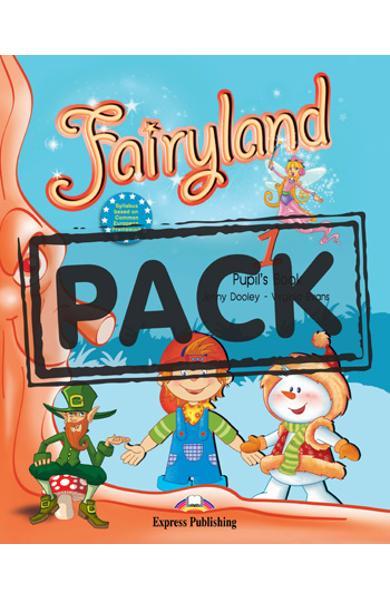 Curs limba engleza Fairyland 1 Pachetul elevului ( Manual + DVD )