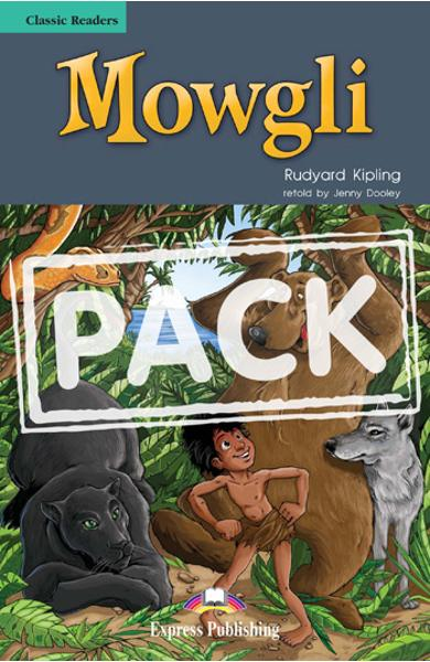 Literatura adaptata - Mowgli ( Carte + CD ) 978-1-84679-394-3