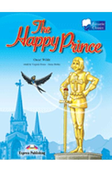 Literatură adaptată pt. copii The Happy Prince cu CD