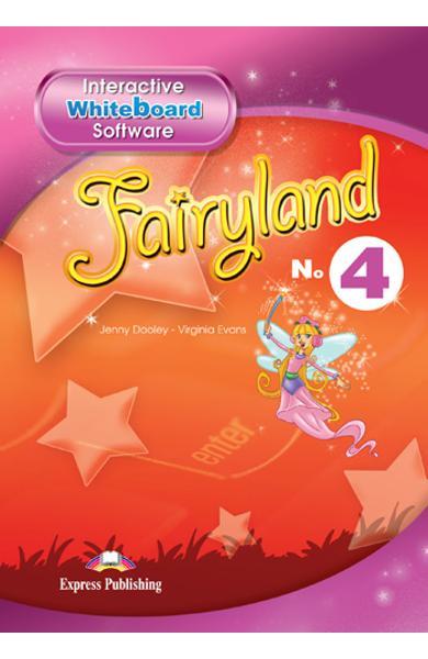 Curs limba engleză Fairyland 4 Soft pentru tabla interactivă
