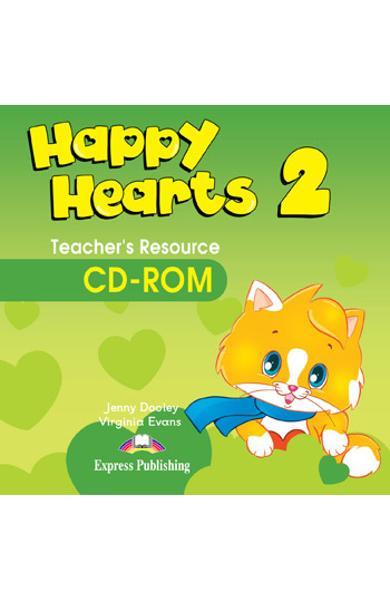 Curs limba engleză Happy Hearts 2 CD-ROM - material aditional pentru profesor