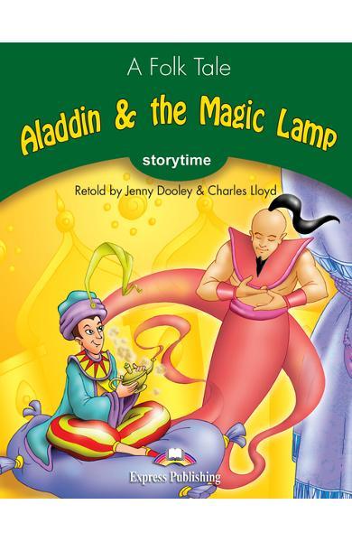 Literatură adaptată Aladdin and the Magic Lamp cu Multi-ROM