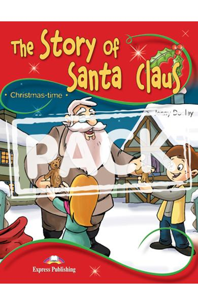 Literatura adaptata pt.copii - The Story of Santa Claus - Set: Carte + MULTI-ROM 978-1-84974-332-7
