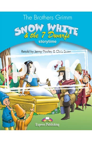 Literatura adaptata pt.copii - Snow White and the Seven Dwarfs - Set: Carte + MULTI-ROM 978-1-84974-308-2