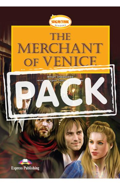Literatura adaptata pt.copii - The Merchant of Venice - Set: Carte + MULTI-ROM 978-0-85777-195-7