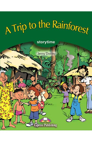 Literatură adaptată A Trip to the Rainforest cu Multi-ROM