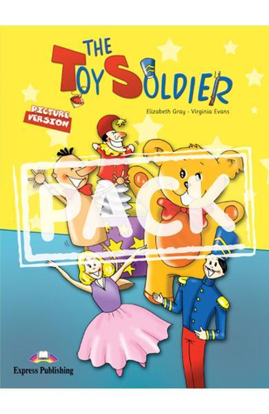 Literatura adaptata The toy Soldier reader + multi-rom 978-1-84974-182-8
