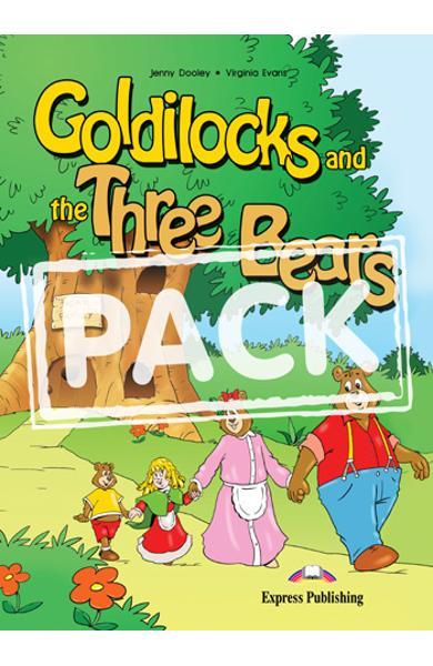 Literatura adaptata Goldilocks and the three bears reader cu MULTI-ROM 978-1-84974-206-1