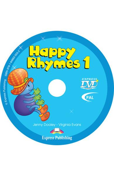 Curs limba engleză Happy Rhymes 1 DVD