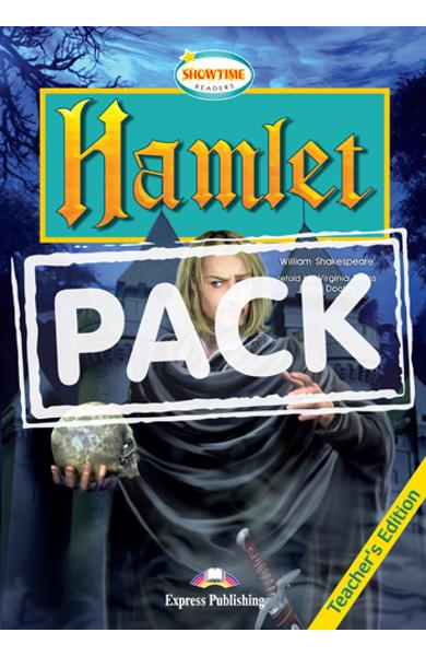Literatura adaptata pt.copii - Hamlet - Set: Carte + AUDIO CD 978-1-84679-380-6