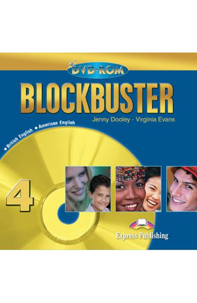 Curs limba engleză Blockbuster 4 DVD-ROM