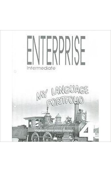 Curs limba engleză Enterprise 4 My Language Portfolio 978-1-84466-955-4