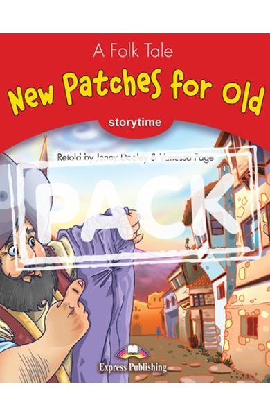 Literatura adaptata pt.copii - New Patches for Old - Pachetul elevului: Carte + MULTI-ROM 978-1-84974-360-0