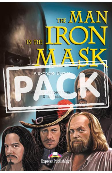 Literatura adaptata pt.copii - The Man in the Iron Mask - Set: Carte + AUDIO CD 978-1-84466-812-0