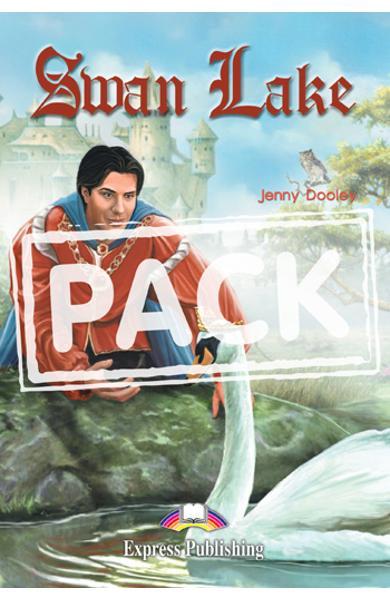 Literatura adaptata pt.copii Swan Lake - Set: Carte + Multi-Rom + Caiet de activitati 978-1-84974-246-7