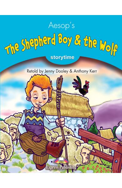 Literatura adaptata pt.copii - The Shepherd Boy and the Wolf - Set: Carte + MULTI-ROM 978-1-84974-282-5