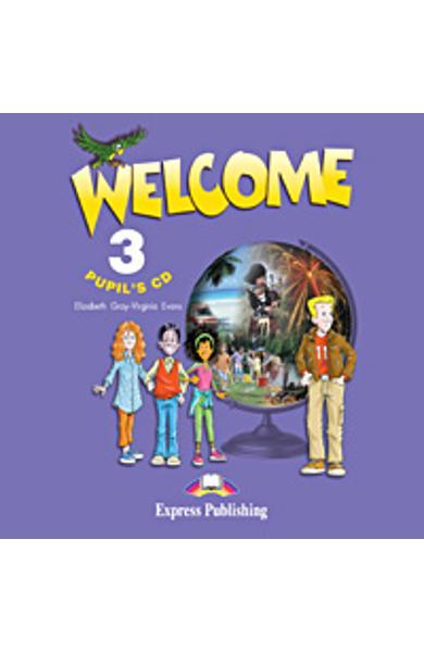 Curs limba engleza Welcome 3 CD elev 978-1-84325-317-4