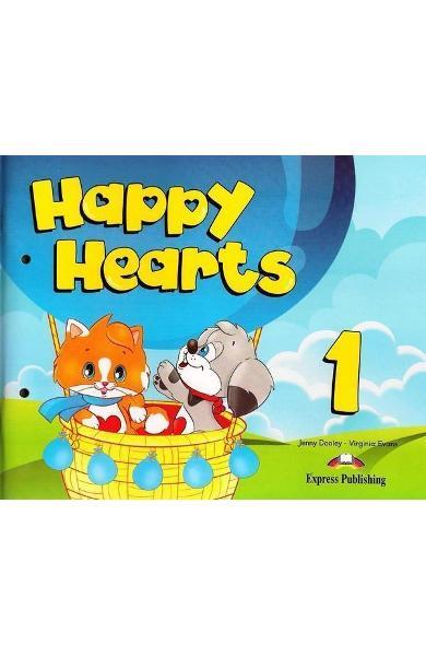 Curs limba engleză Happy Hearts 1 Pachetul elevului