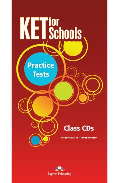 Teste limba engleză Ket for Schools Audio CD (set 5 CD) 978-1-78098-886-3