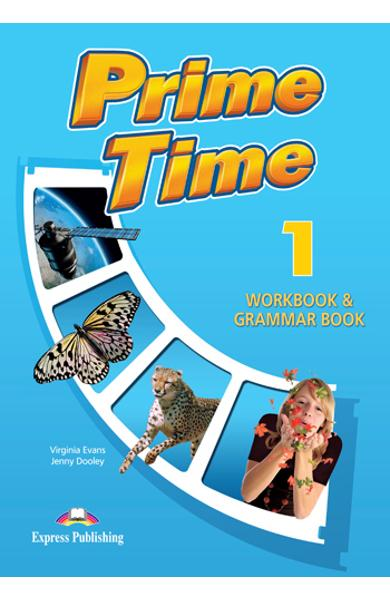 Curs limba engleză Prime Time 1 Caiet şi gramatică