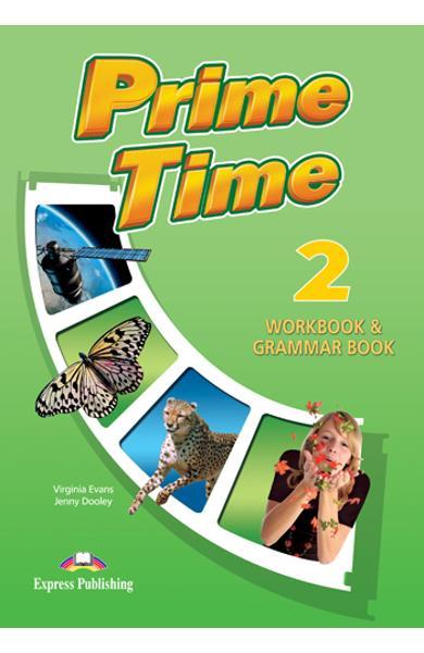 Curs limba engleză Prime Time 2 Caiet şi gramatică