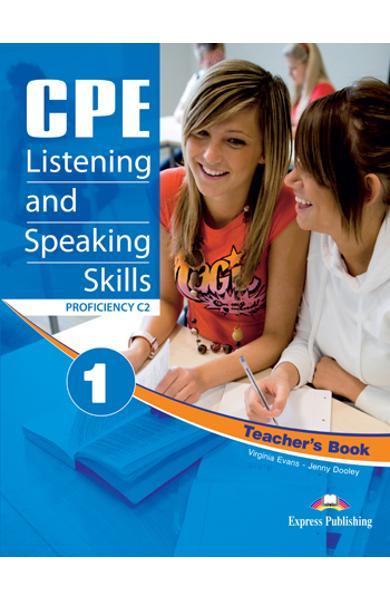 Teste limba engleză CPE Listening and Speaking 1 Manualul profesorului