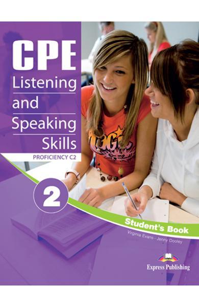 Teste limba engleză CPE Listening and Speaking 2 Manualul elevului