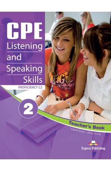 Teste limba engleză CPE Listening and Speaking 2 Manualul profesorului