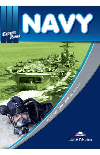 Curs limba engleză Career Paths Navy - Pachetul elevului