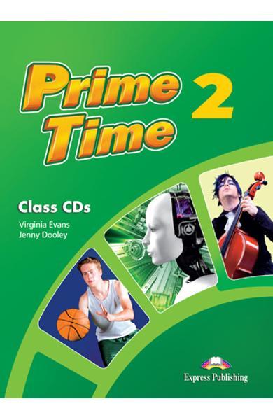 Curs limba engleză Prime Time 2 Audio CD (set 4 CD)