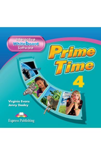 Curs Lb. Engleza Prime Time 4 Software pentru Tabla Magnetica Interactiva 978-1-4715-0001-5